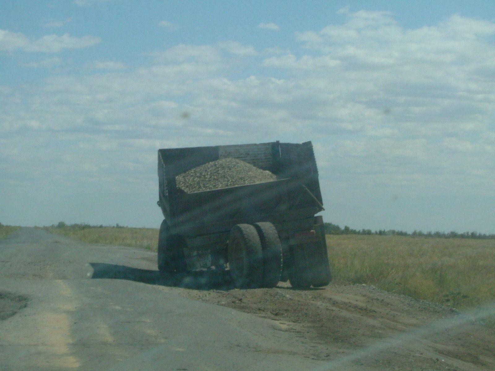Kazakhstan Bad Roads
