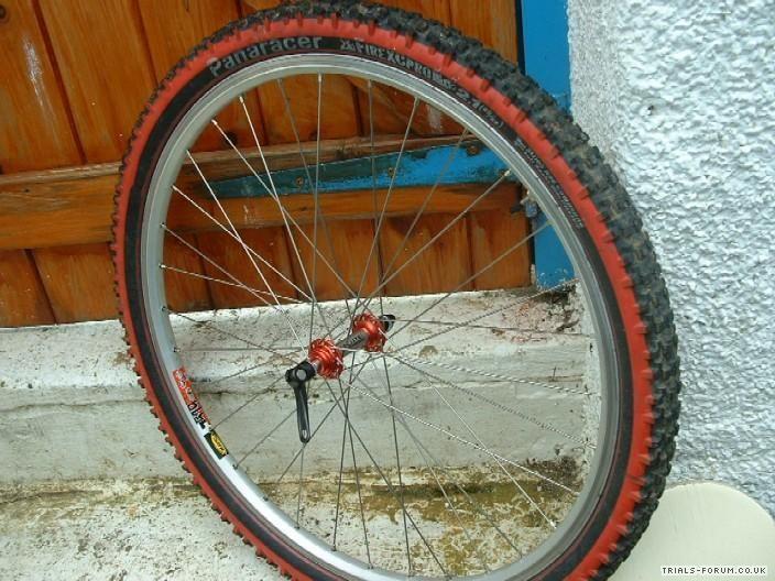front ultralite wheel