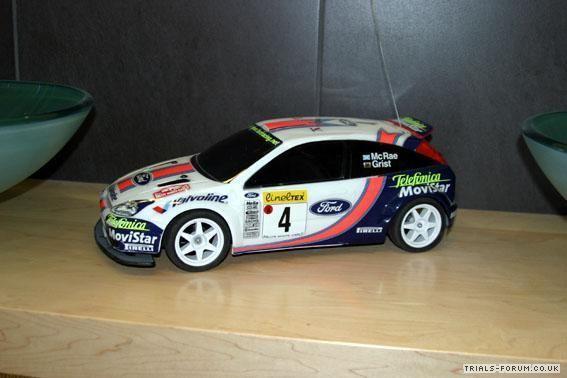 focus rc car